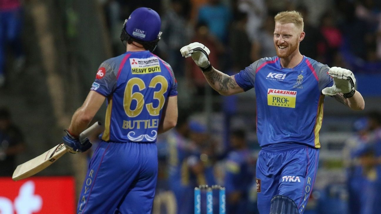 Buttler, Stokes rested for England T20s ahead of IPL involvement